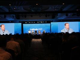 Susan Heystee, Verizon Telematics' SVP of OEM, hosted the panel.