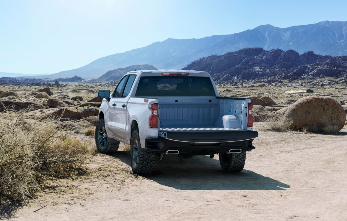 Silverado Custom Trailboss is a new trim for 2019 with additional off-road equipment.