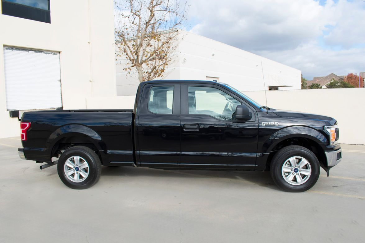 The truckrides on the 145-inch wheelbase and 17-inch wheels.