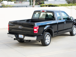 This F-150 is equipped with a 6.5-foot box.