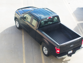 This truck can tow up to 5,000 pounds and haul 1,804 pounds of payload.