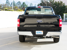 This F-150's GVWR of 6,300 puts it squarely in Class 2.
