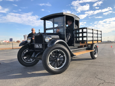 This 1926 Chevrolet was primarily used as a workhorse on farms and has an optional crank start.