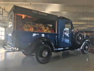 The 1936 Canopy Fruit Deilvery Truck was based on the Chevrolet Series FB half-ton pickup truck....