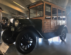 "Nicknamed the ""Depot Hack,"" the 1928 Chevy National AB Woody 4-Door Wagon was a forerunner of..."