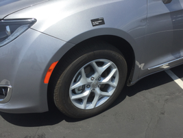 The Pacifica offers optional 20-inch wheels.
