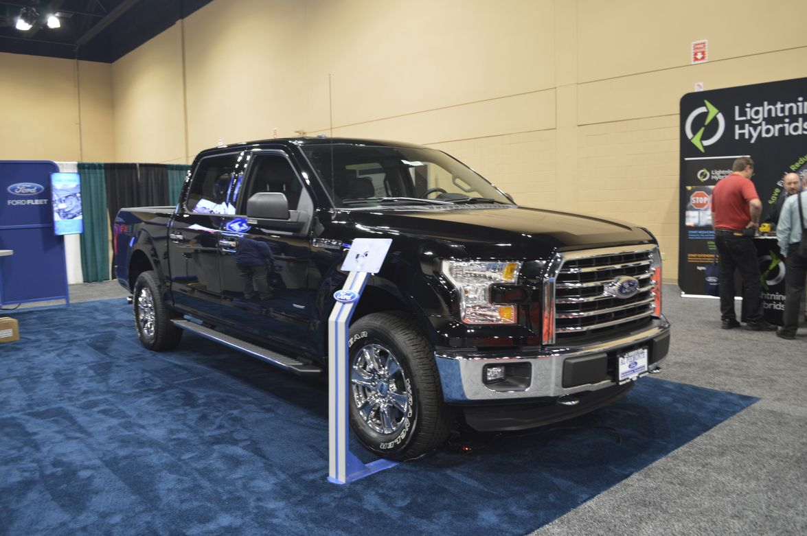 Ford was among the OEMs displaying products during FTX.