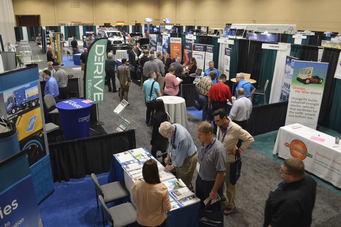 The exhibit hall was well attended by those interested in forward-looking solutions to their...