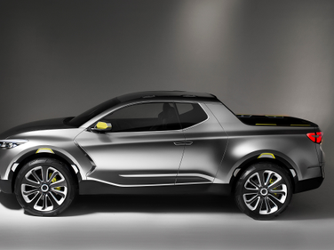 The Santa Cruz is a concept truck designed for urban settings.