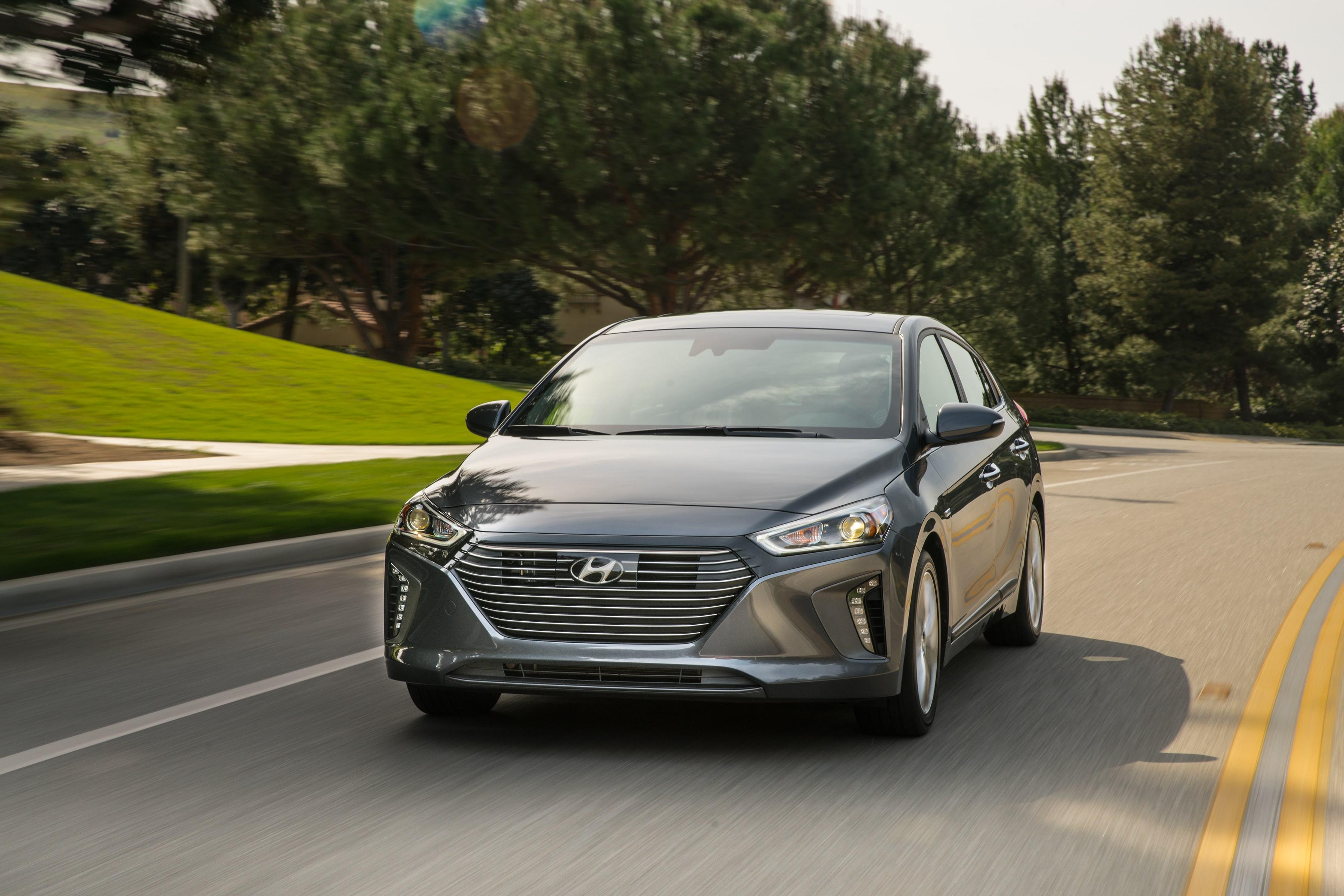 Hyundai's Electrified Ioniq Sedans