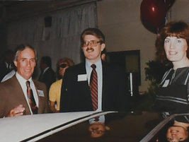Circa 1980s, Bob Betagole (right) successfully managed the company when interest rates increased...