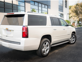 The 2015 Suburban arrives with a standard rear-view camera system as well as optional adaptive...