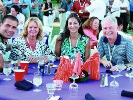 (L-R) Dennis Saric of ARI, Lisa Adams of WL Gore, Kristina Nicoles of ARI, and Jim Creighton of...
