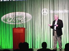 John Dmochowsky, CAFM, sales fleet manager for Kraft Foods, helped open the conference.