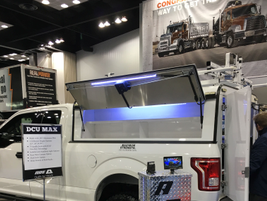 The DCU Max truck cap is a line extension of A.R.E.'s most popular commercial cap that features...