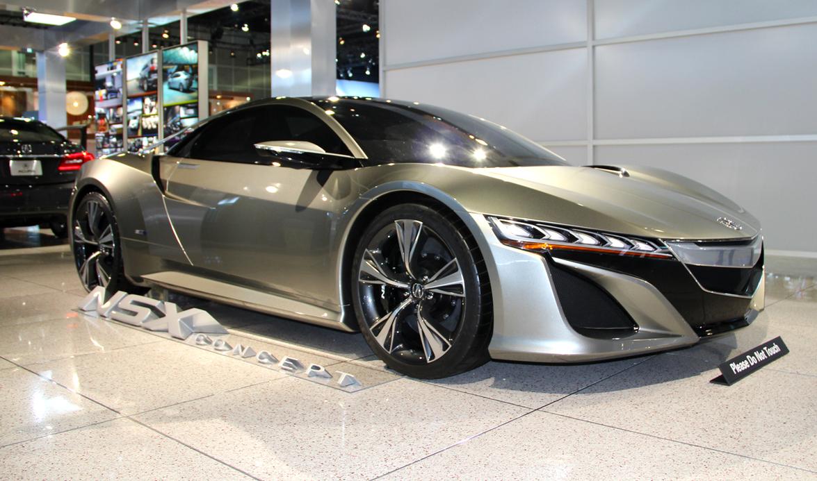 Acura also showed its NSX Concept at the LA Auto Show.