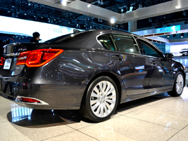 The Acura RLX is the brand's new flagship sedan.