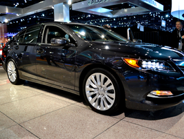 Acura had its 2014-MY RLX at the event. The RLX features a new 3.5L V-6.