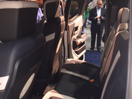 The W-15 is a crew cab with a cozy second row of seating.