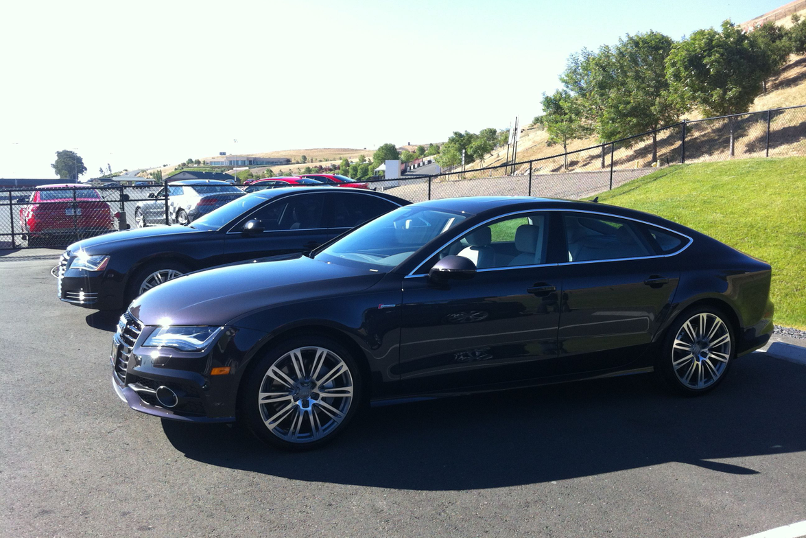 The 2013 Audi A7 is a 5-door Sportback that is available with a 3.0L turbocharged TFSI V-6...