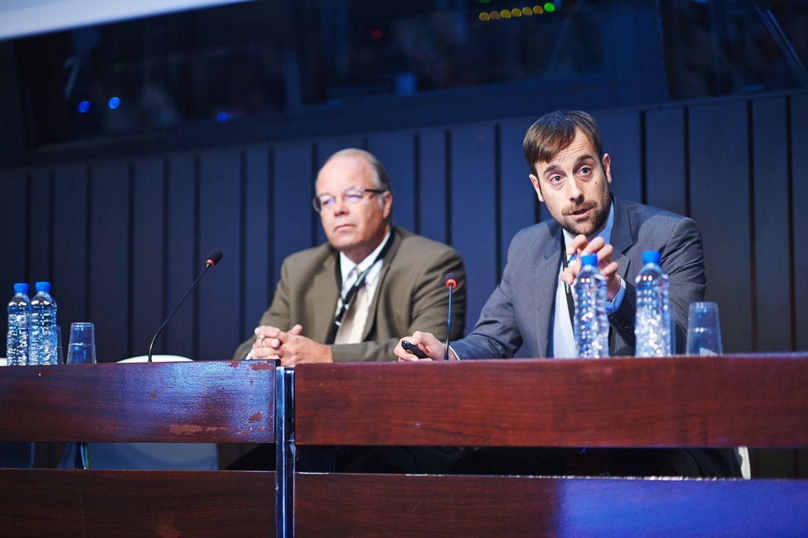 Automotive Fleet Editor Mike Antich (left) and Fleet Europe Editor Steven Shoefs share the...