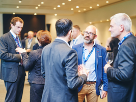 Networking allowed attendees to renew and build professional and personal relationships.