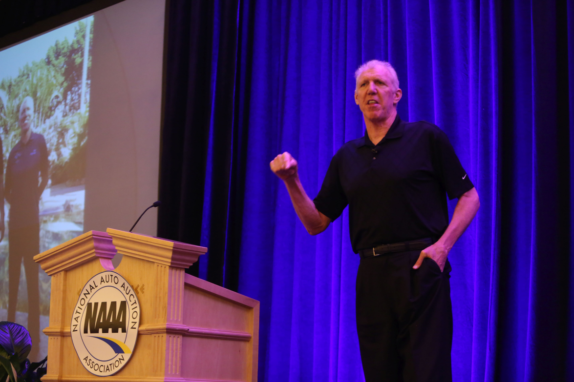 Basketball Hall of Famer and Broadcaster Bill Walton gave an inspiring address about the power...