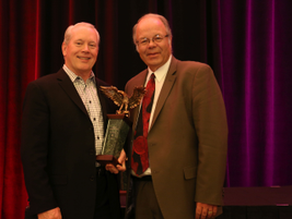 Bob Graham, who retired as ARI vice president of vehicle remarketing, received the Industry...