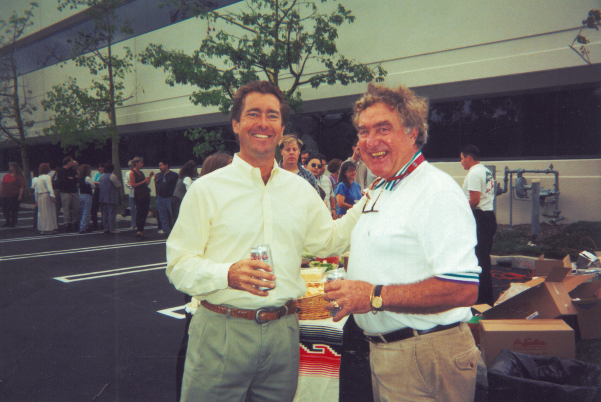 Ty and Ed Bobit at a company function.