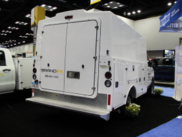 BrandFX introduced the new all-composite service truck body and understructure product, the...