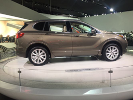 2016 Buick Envision compact luxury SUV