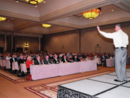 NFL great and ESPN commentator Herm Edwards, who was sponsored by the NAAA, inspired a packed...