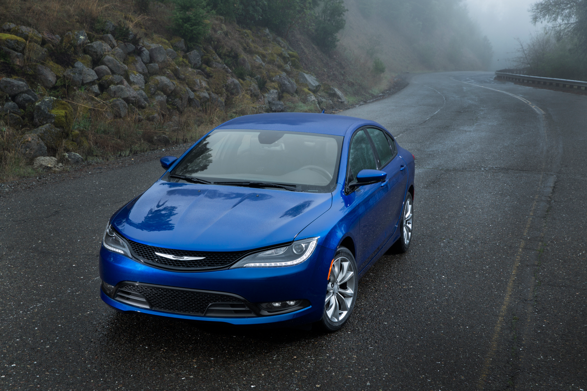 The Chrysler 200 will compete with the Toyota Camry, Ford Fusion, and Honda Accord.