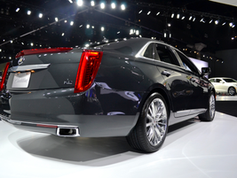 The Cadillac XTS features a direct-injection 3.6L V-6 and a number of safety systems, including...