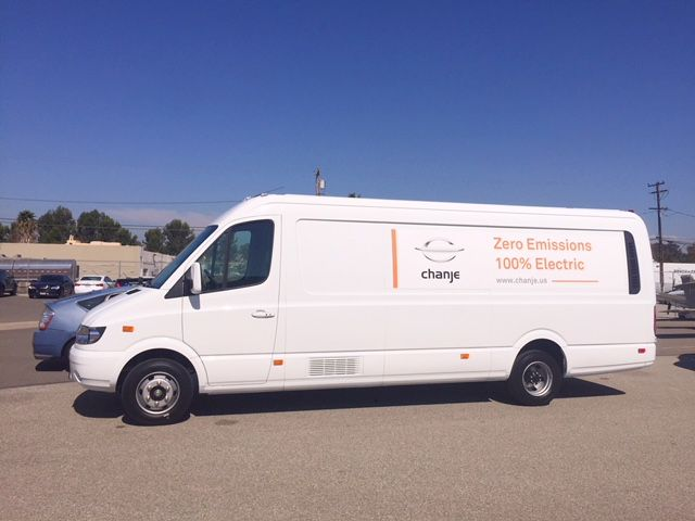 The van is rated at 16,500 lb. GVWR with a maximum payload rating of 6,000 pounds.