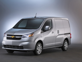 General Motor's small van offering for 2018 is the City Express with 122.7