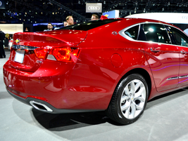 The all-new edition of the Chevrolet Impala will offer three engine choices, a 3.6L V-6, a new...