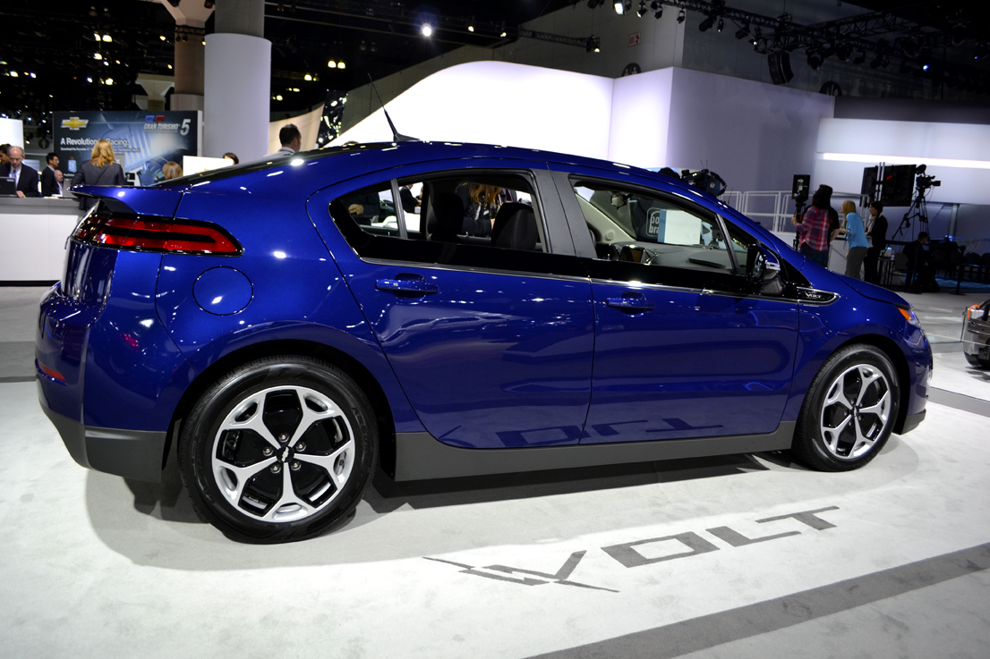 GM brought the latest edition of its Chevrolet Volt to the LA Auto Show.
