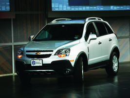 The 2012 Chevrolet Captiva will arrive in 4th quarter 2011as a fleet-only five-seat crossover.