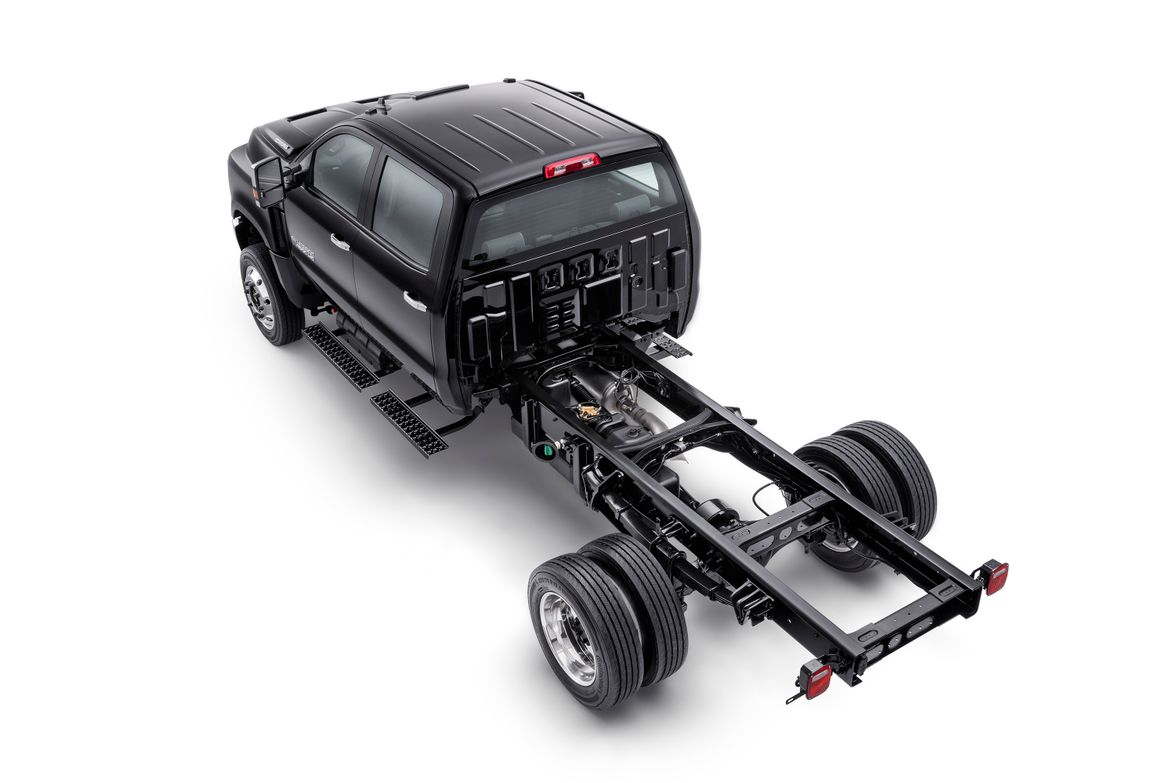 The trucks also feature an 11,000-pound rear axle.