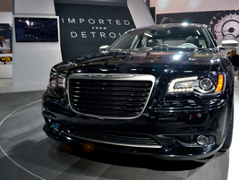 Chrysler showed its 300 at the show.