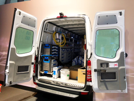 The van will be a good fit for plumbers, electricians, and other tradesman due to its...
