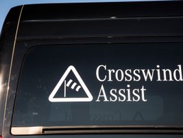 Crosswind Assist is now standard in the Sprinter for MY-2015. This feature helps keep the...