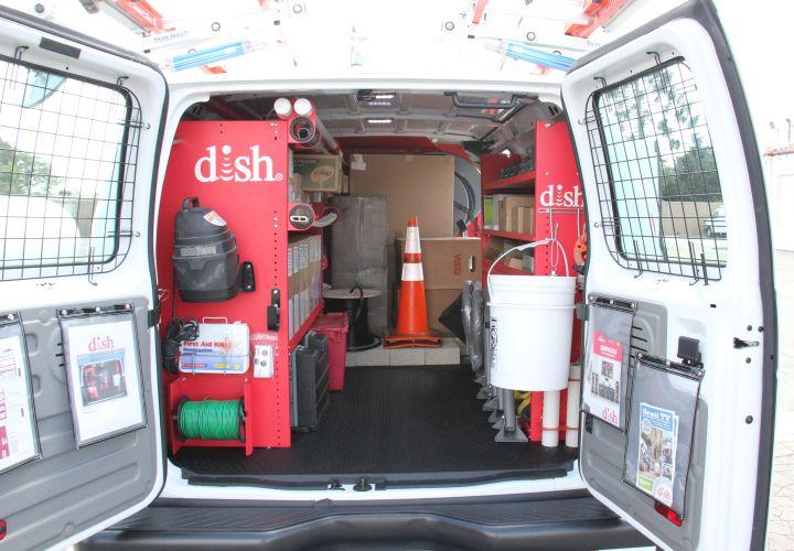Leggett & Platt's setup was based on extensive input from DISH technicians.