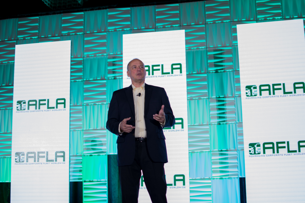 Michael Bieger, outgoing president of AFLA, provided the opening remarks at the 2017 AFLA...