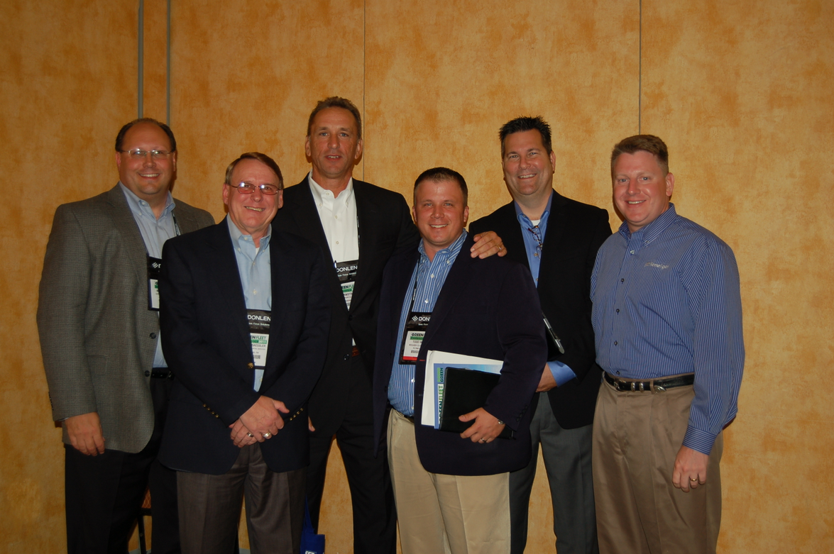 Greg Zilberfarb of PERC (second from right) moderated a panel on propane fuel. Panelists were...