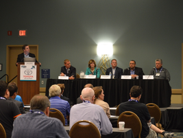 In a session moderated by Chris Wolski of Bobit Business Media, Jason Billman of Verizon...