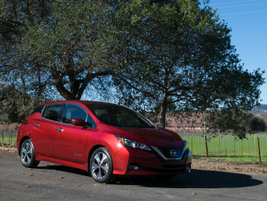 A couple features coming to this year's Leaf is one-pedal driving and ProPilot assist, which...
