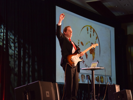 Doug Keeley, CEO, The Mark of a Leader, was the keynote presenter at the conference. His...