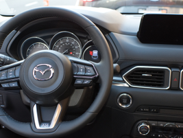 For optimal driver comfort, the steering wheel has been positioned so that it sits at the very...